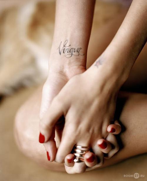 буквы татуировки картинки