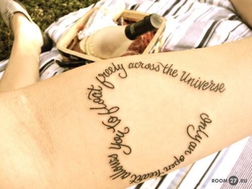рисунки татуировок для девушек: