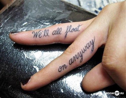 татуировки на руках надписи фразы Татуировки для девушек. Фото татуировок