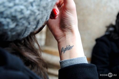 Татуировки женские на запястье