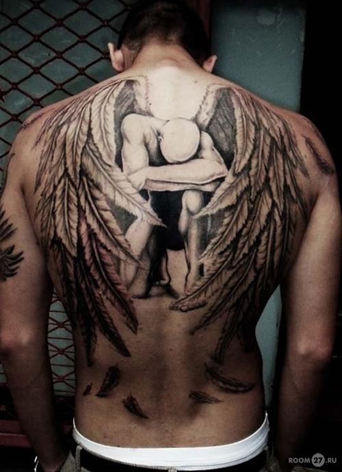 Татуировка ели