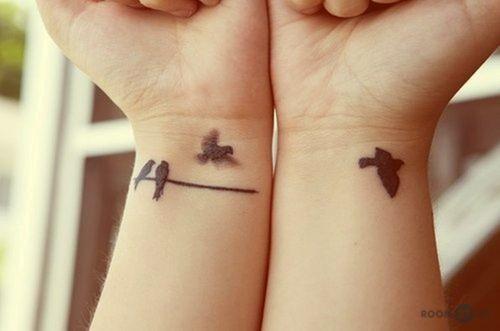 Тату птицы для девушек фото и эскизы: на руке