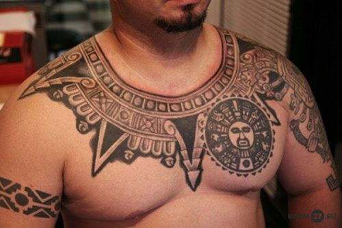 Полное тату