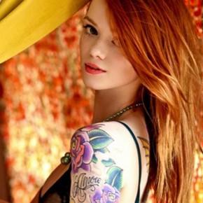 Татуировки для девушек рукав