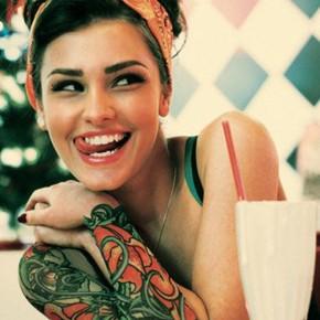 Татуировки для девушек рукава