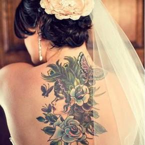 Татуировки для девушек невест