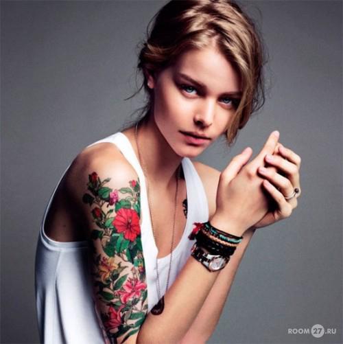 Надписи на руках татуировки на руках