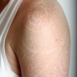 Татуировки на руках белые чернила
